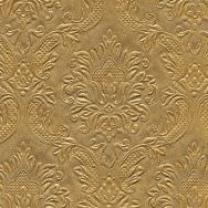 Napkins embossed - Moments Ornament gold