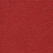 Napkins embossed - Moments Ornament red