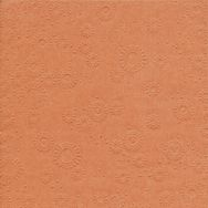 Napkins embossed - Moments Uni terracotta