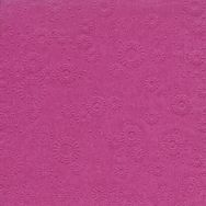 Napkins embossed - Moments Uni orchid