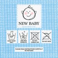 Napkins - New baby blue
