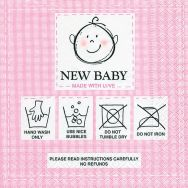 Napkins - New baby pink