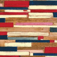 Napkins - Colourful planks