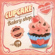 Napkins - Cupcake with love