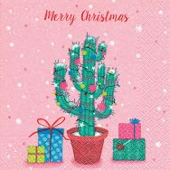 Napkins - Decorated cactus