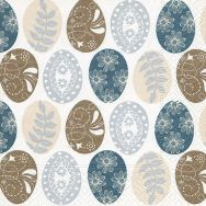 Napkins - Pattern eggs