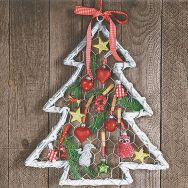 Napkins - Handicraft tree