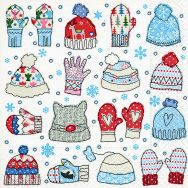 Napkins - Mitten and beanies