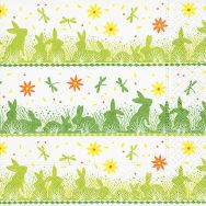 Napkins - Bunny meadow