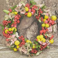 Napkins - Autumn wreath