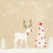 Napkins - Cute deer