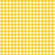 Napkins - New Vichy yellow