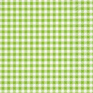 Napkins - New Vichy green
