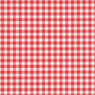 Napkins - New Vichy red