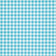 Napkins - New Vichy turquoise