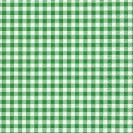 Napkins - New Vichy forest green