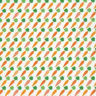 Napkins - Carrots pattern