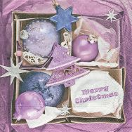 Napkins - Baubles box