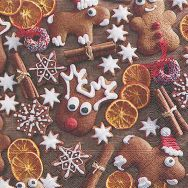 Napkins - Gingerbread cookies