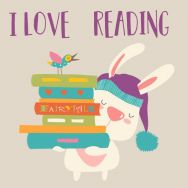 Servietten - I Love Reading