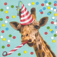 Napkins - Party giraffe