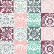 Napkins - Lace patchwork