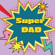 Servietten - Super Dad