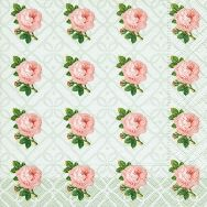 Napkins - Small vintage roses