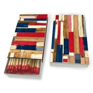 Matches - Colourful planks