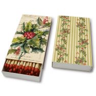 Matches - Christmas holly