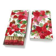 Matches - Shiny poinsettia