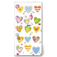 Handkerchiefs - Colourful hearts