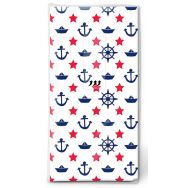 Handkerchiefs - Navy white
