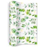 Non woven runner - Fresh leaves