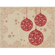 Placemats flax - Baubles