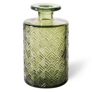 Glass vase - Passion green big