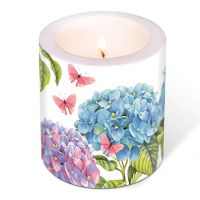 Candle - Gentle hydrangea