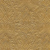 Cocktail napkins - Moments Ornament gold