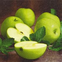 Servietten - Apfel Granny Smith