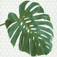 Servietten - Monstera