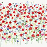 Servietten - Turnowsky - Harmony poppies