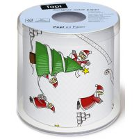 Toilet paper - Santas so busy
