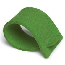 Napkin rings of felt - green