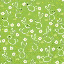 Napkins - Easter meadow