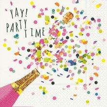 Servietten - Yay, Party time